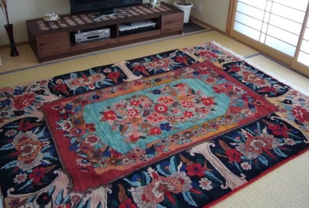 希少な遊牧民絨毯