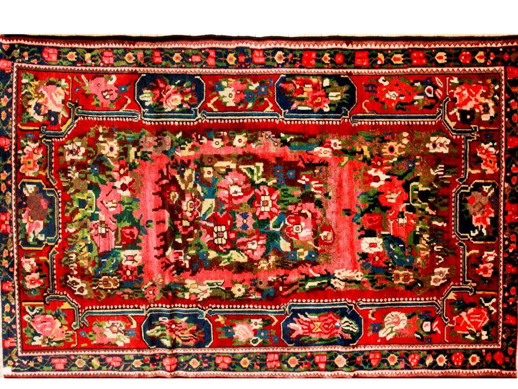 ファラハン(バクチアリ民族)のオールド絨毯
