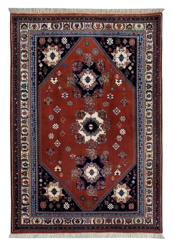 カシュガイ民族の癒し系絨毯